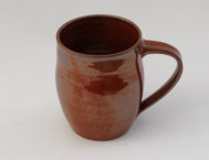 Half-pint mug in Miranda Red