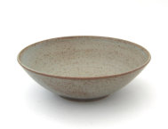 Grey speckled bowl (25 cm)